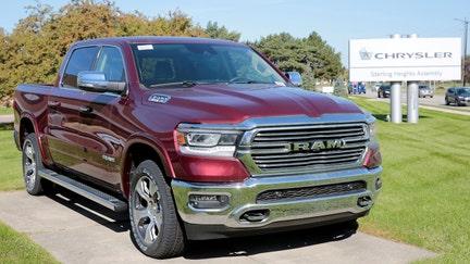 Fiat Chrysler recalls 108,000 diesel Ram 1500 pickup trucks for coolant leaks