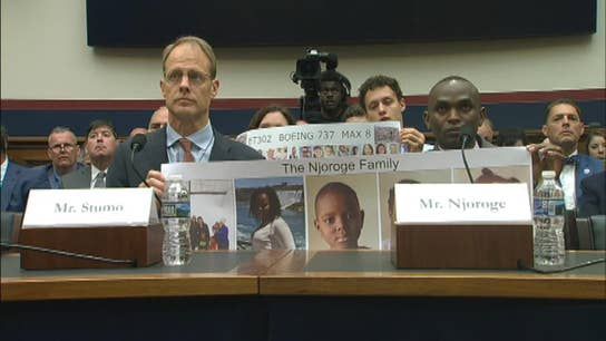 Boeing 737 Max hearing: Man whose family died in Ethiopia crash says it 'never leaves' him