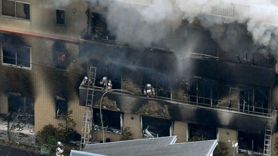 Man sets Kyoto anime studio on fire while screaming 'you die,' killing dozens