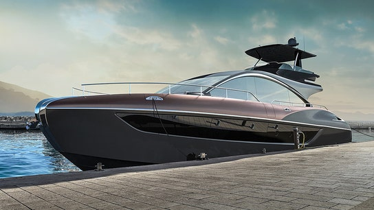Lexus teases arrival of luxury yacht — 3 years after sport yacht concept release