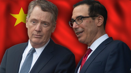 Kudlow optimistic as Lighthizer, Mnuchin head to China for talks