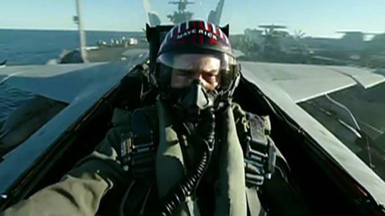 Top Gun pilots' split-second timing outmatches drones, former Navy strike fighter tactics instructor says