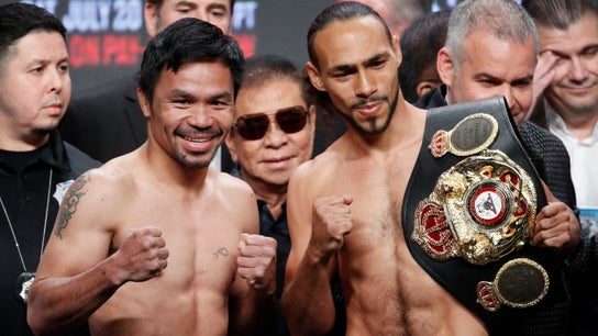 Manny Pacquiao and Keith Thurman: Here's how much each boxer will make for fight
