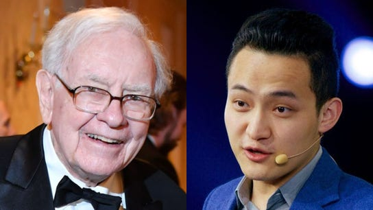 Justin Sun's lunch with Warren Buffett uncertain following cryptocurrency entrepreneur's apology