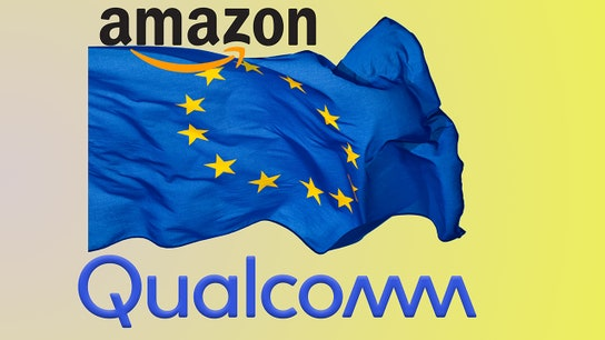 Qualcomm hit with EU fine as Amazon is being probed