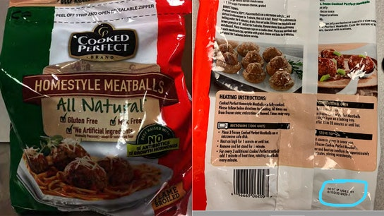 More than 53K pounds of frozen meatballs recalled over undeclared allergens