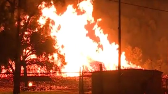 Jim Beam thanks Kentucky firefighters who battled warehouse fire
