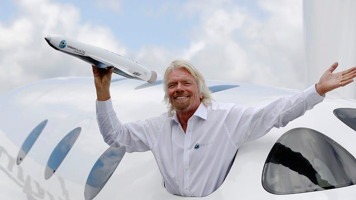 Virgin Galactic's stock-market debut like 'sticking your finger in the wind'