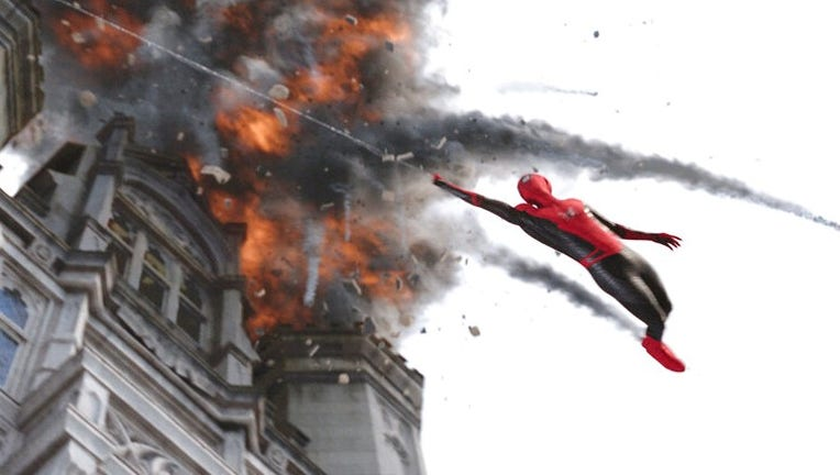 'Spider-Man' lands on top again, beating out new releases 'Crawl,' 'Stuber'