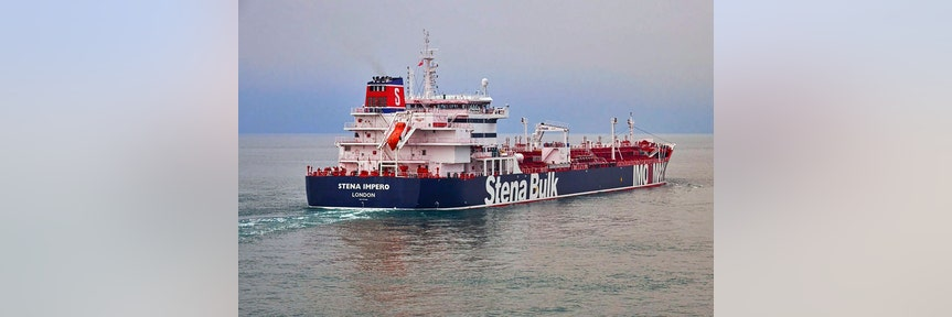 IRAN SEIZES UK TANKER AS STRAIT OF HORMUZ CONFLICT ESCALATES