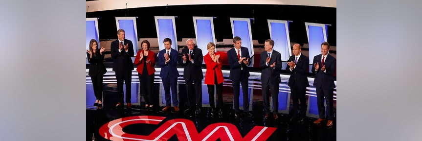 MEDICARE FOR ALL, FUNDING AND 'IMPOSSIBLE PROMISES' DEEPLY DIVIDE DEMS DURING 2020 DEBATE