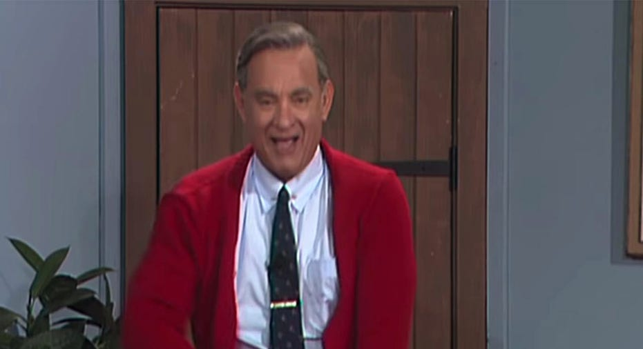 Tom Hanks Mister Rogers Revealed In New Trailer Expected To Make Box Office Gold Fox Business