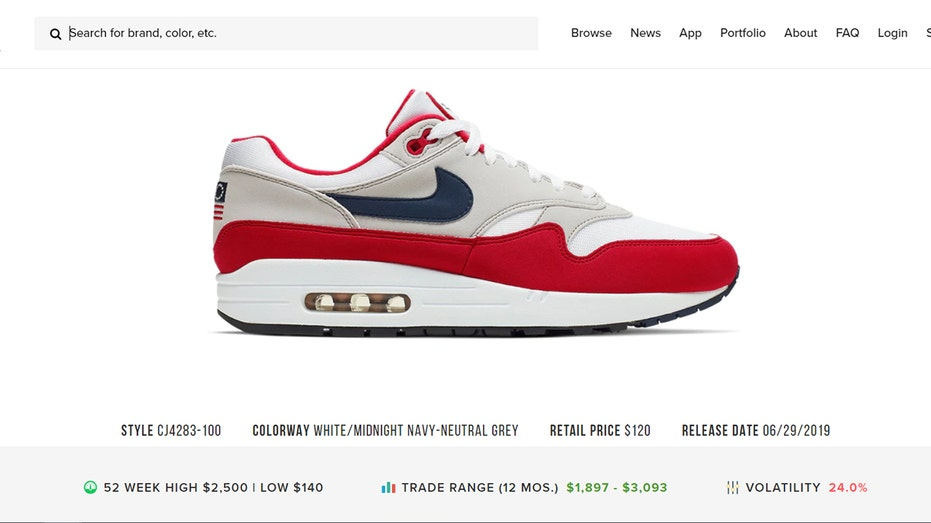 Nike 'Betsy Ross flag' sneakers sold for $2K each on resale