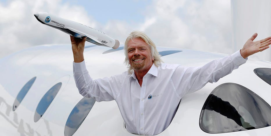 Richard Branson's Virgin Galactic plans to go public