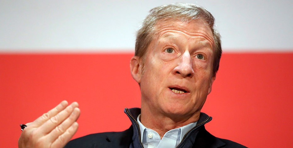 Billionaire Tom Steyer jumps into presidential race