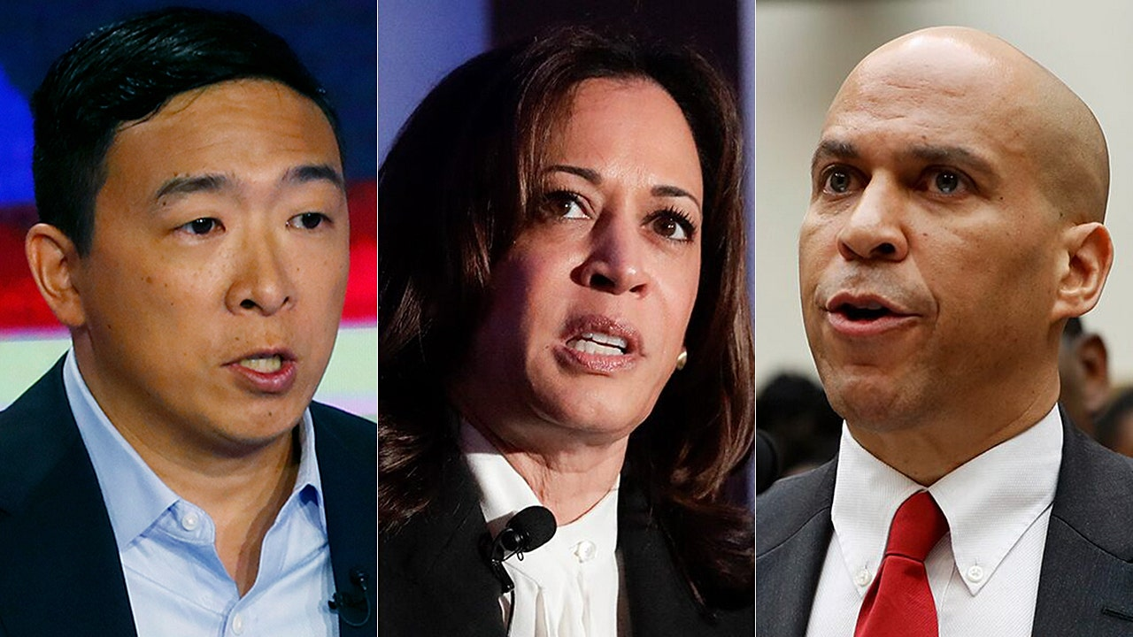 2020 Dems' free cash handout plans to cost taxpayers billions | Fox