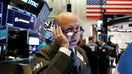Stocks trade cautiously lower on trade deal concerns