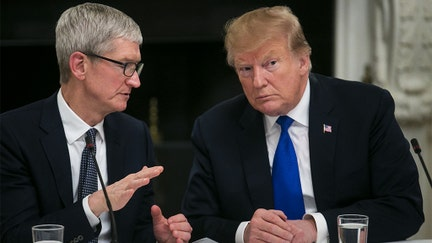 Apple CEO's handling of trade war has helped buoy shares, investors say