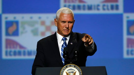 Recession coming if Democrat wins White House in 2020: Pence