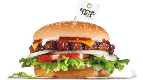 Beyond Meat burger such a hit at Carl's Jr., the fast-food chain is doing this