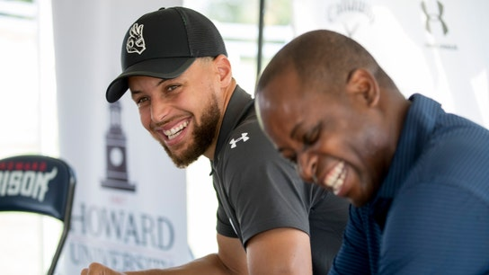 Stephen Curry assists Howard University, funds golf program with massive donation