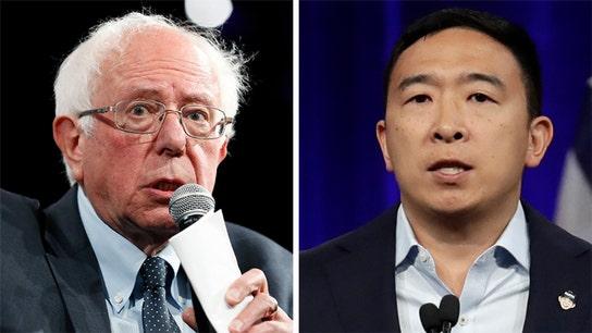 Free money plan not so universal as Andrew Yang and Bernie Sanders clash