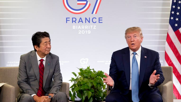 At G-7, Trump optimistic on trade deals with Canada, Japan