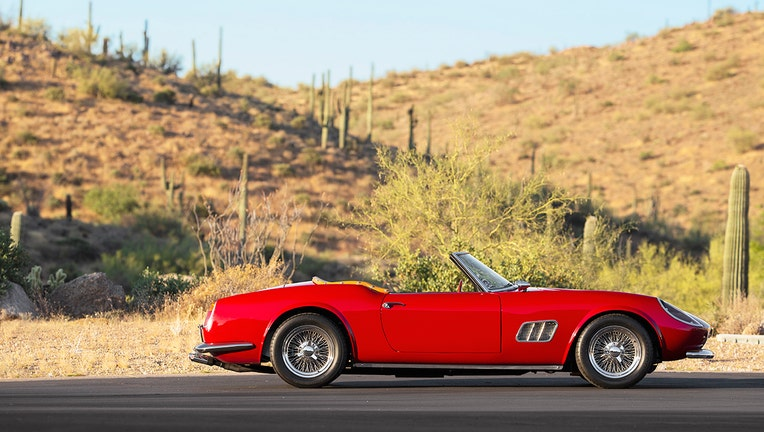 Gallery: Rare Ferrari, Porsche, other exotic cars sold at auction