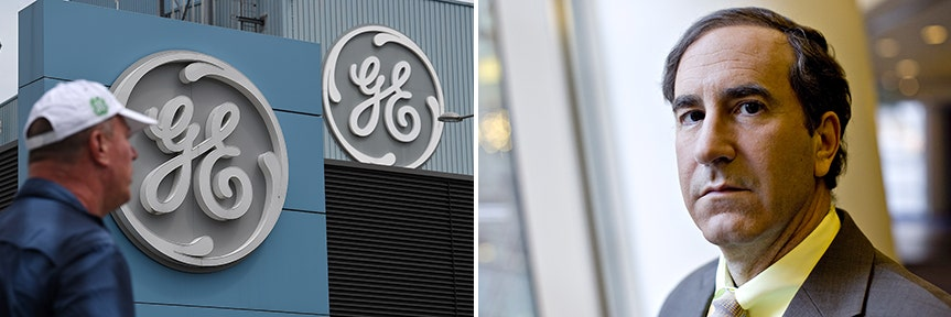GE MOBILIZING ITS TROOPS IN WAR AGAINST WHISTLE BLOWER HARRY MARKOPOLOS