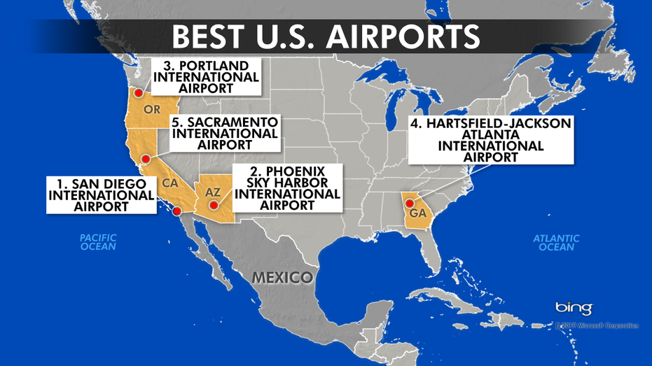 These are the 5 best (and worst) airports in the country ...