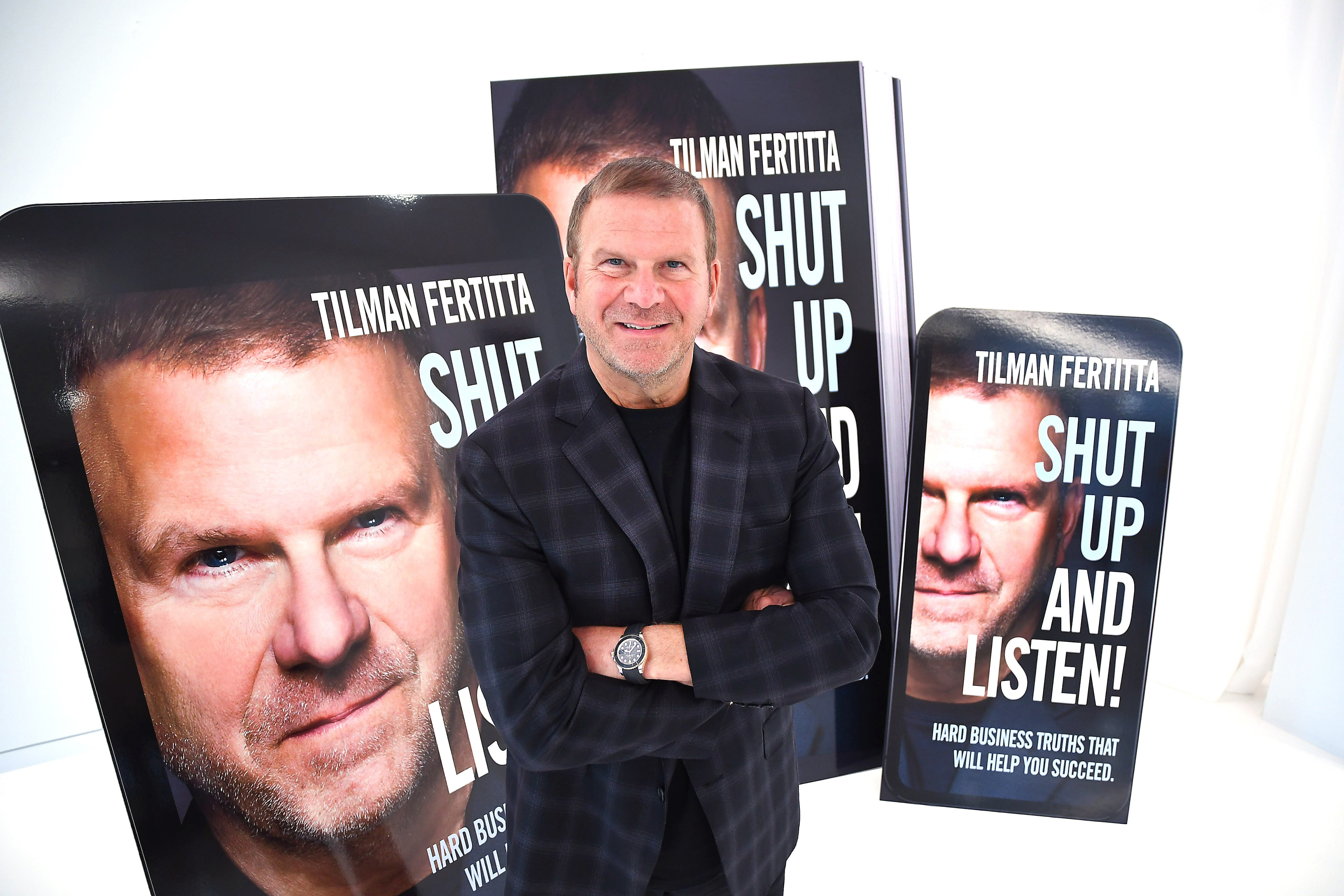 Houston Rockets owner, business mogul Tilman Fertitta: Why I live by the 95:5 rule