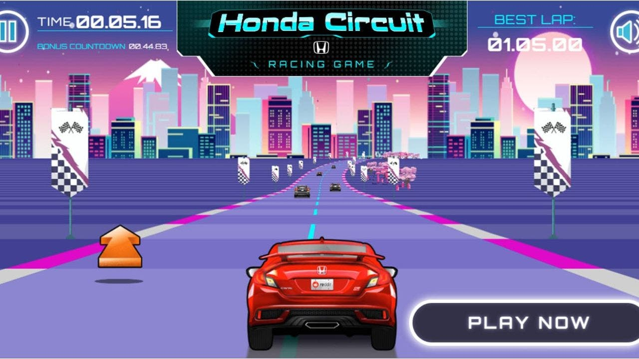 Honda Partners With Reddit For Retro Racing Video Game Fox Business