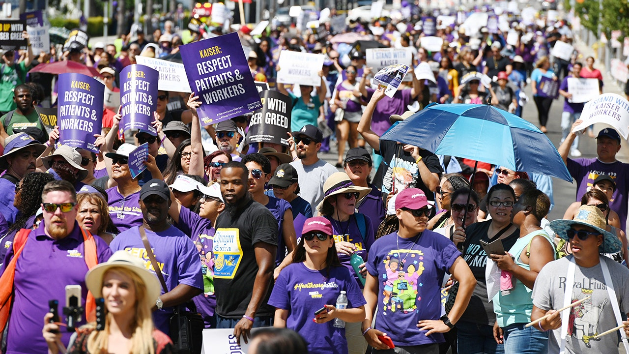 80,000 Kaiser Permanente workers to strike nationwide in