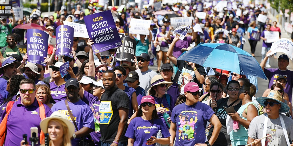 80,000 Kaiser Permanente workers to strike nationwide in October | Fox  Business