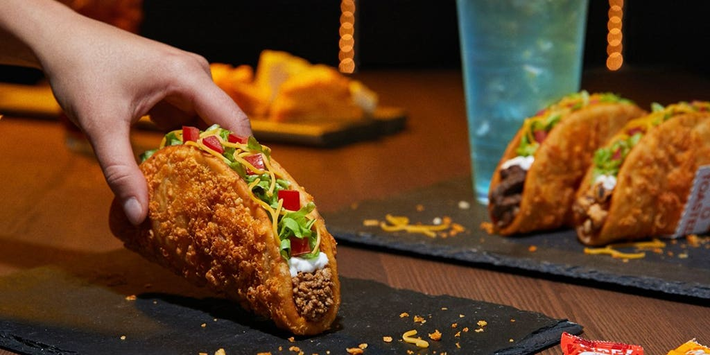 Taco Bell cooks up its biggest, cheesiest chalupa in years