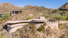 PHOTOS: How much Frank Lloyd Wright's last home design sold for