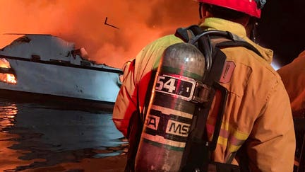 Boat safety law proposed after California fire killed 34