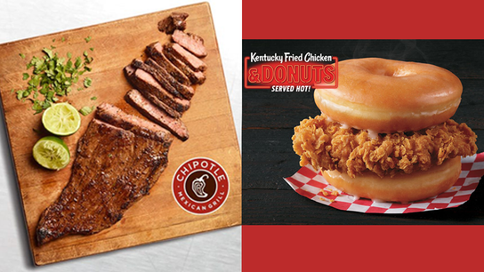 Fast food fight: Chipotle offers healthy steak while KFC counters with donut dish