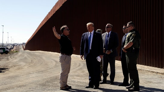Trump targets the Fed again, says it has 'made mistakes' during trip to US border