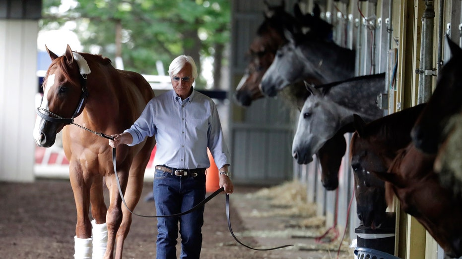 Bob Baffert will not have any horses running in the 2021 Belmont Stakes