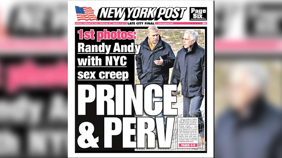 Prince Andrew Pr Adviser Quits Over Bbc Epstein Interview Fox