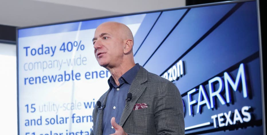 Jeff Bezos Pledges Amazon To Meet Paris Climate Goals 10 Years Early