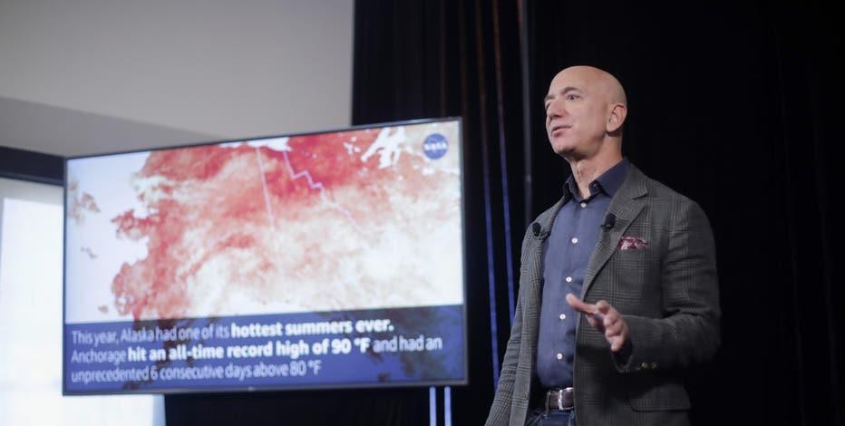 Jeff Bezos Pledges Amazon To Meet Paris Climate Goals 10 Years Early