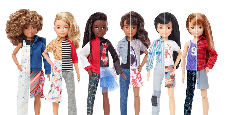 Mattel Introduces Line of Gender-Neutral Dolls