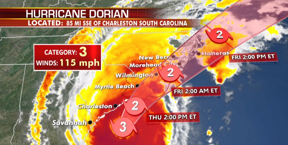 Hurricane Dorian: Waffle House Index flashing red in South