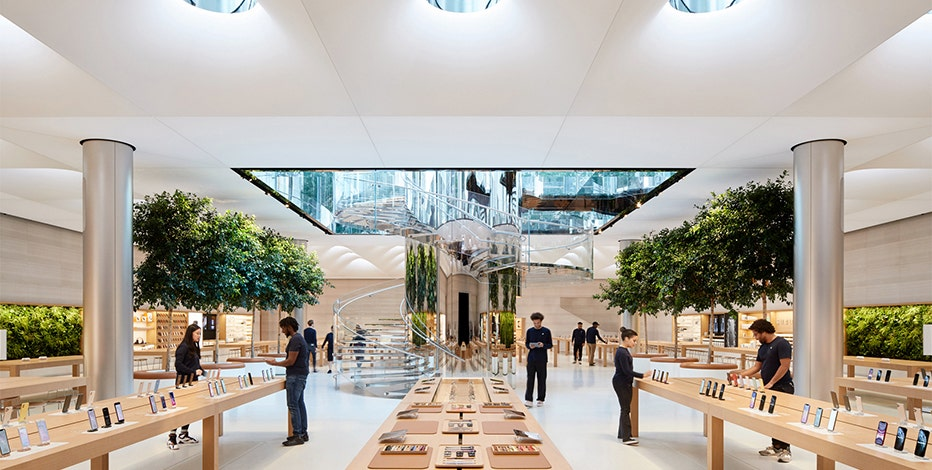First Look inside Apple's newly remodeled NYC store