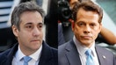Scaramucci visits friend and fellow Trump critic Michael Cohen in prison