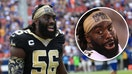Saints linebacker Demario Davis raises $120K for charity with 'MAN OF GOD' headband following NFL uniform fine