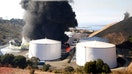 Fire at California oil facility prompts health worries