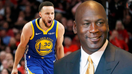 Golden State Warriors' Stephen Curry responds to Michael Jordan's Hall of Fame remark